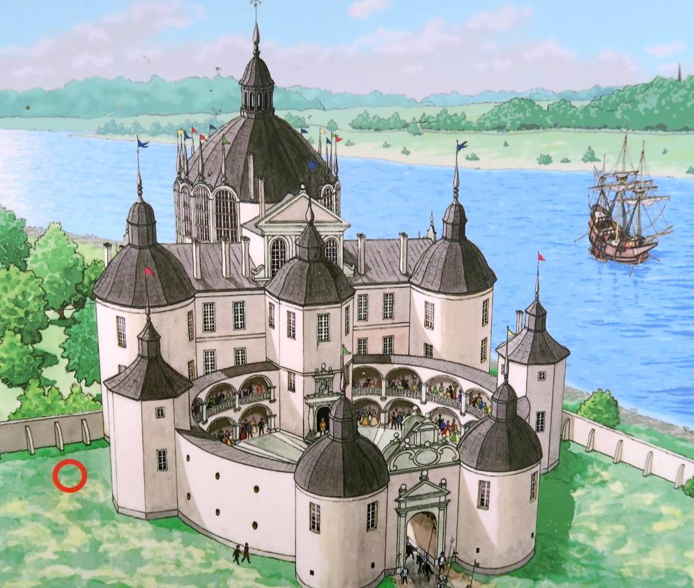 svartsjö slott ,vasaslott
