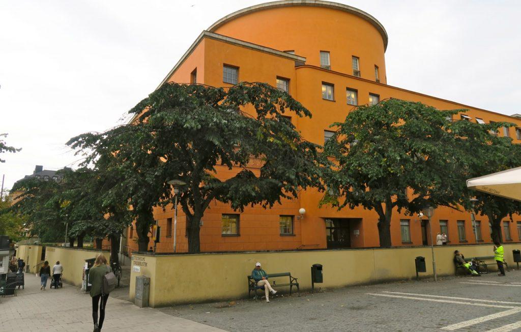 Stockholms stadsbibliotek är också nygammalt