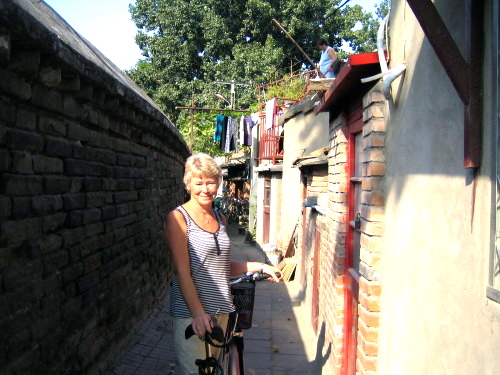 Peking, det var där det började. Här i ett hutongområde.