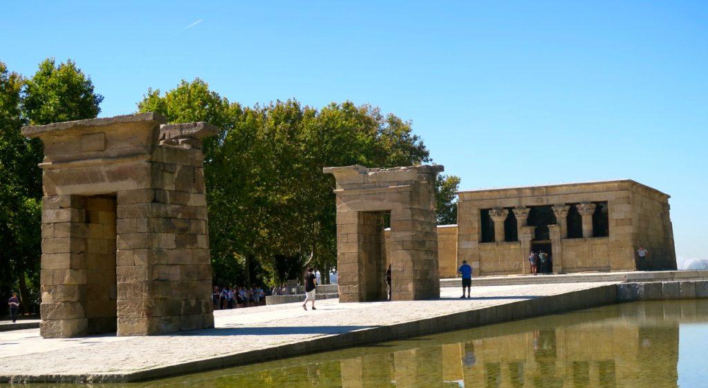 Mer i blickfånget i Madrid, Templo de Debod