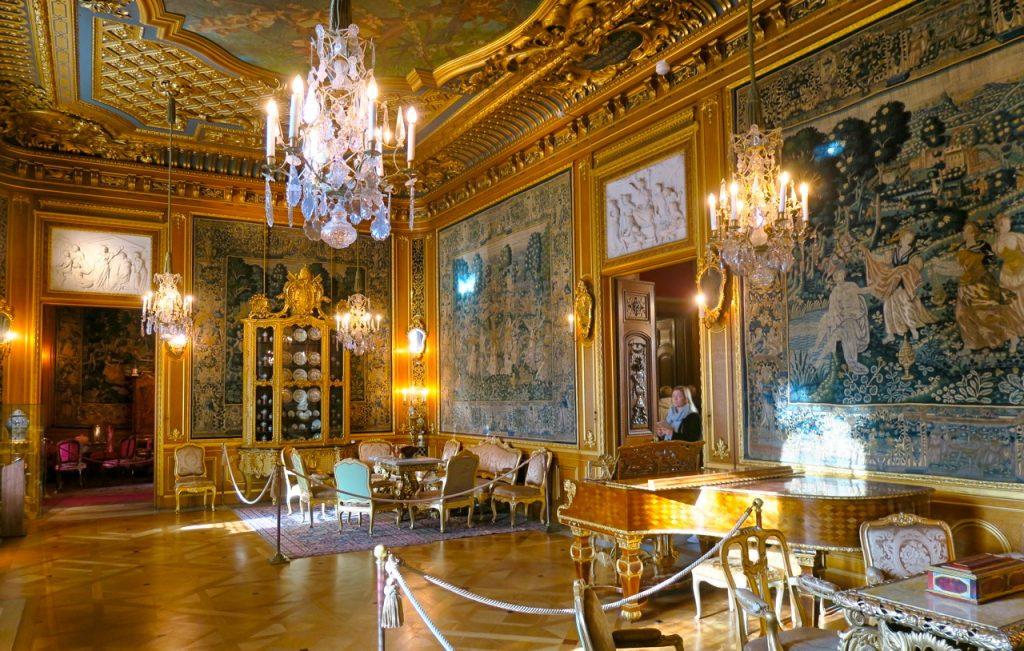 En av de många salongerna i Hallwylska palatset.