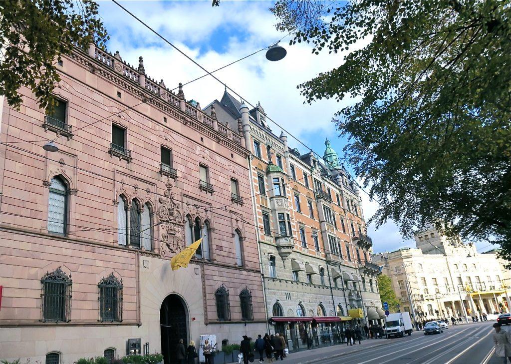 Hallwylska palatset på Hamngatan i Stockholm