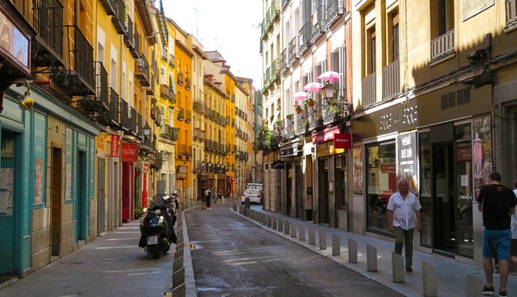 Några av Madrids charmiga kvarter