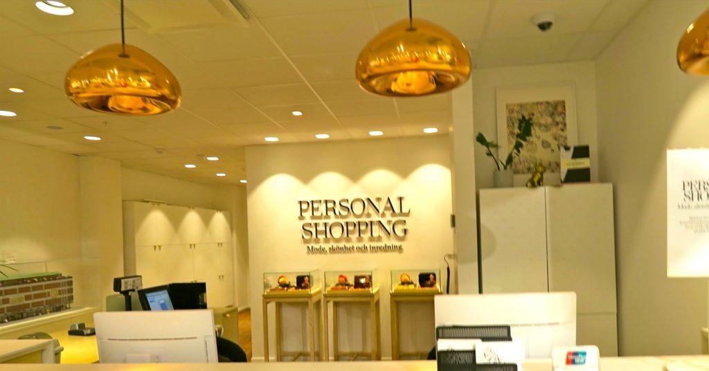 """Uppdatering i praktiken, en rejäl sådan, skulle det bli på Åhléns med hjälp av """"personal shopping"""""""