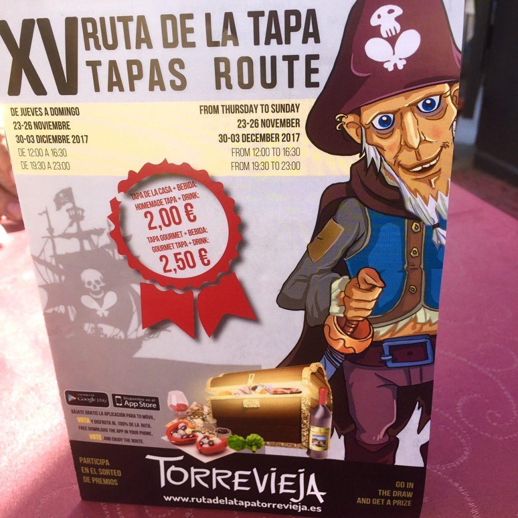 Dax igen för en tapasrunda i Torrevieja
