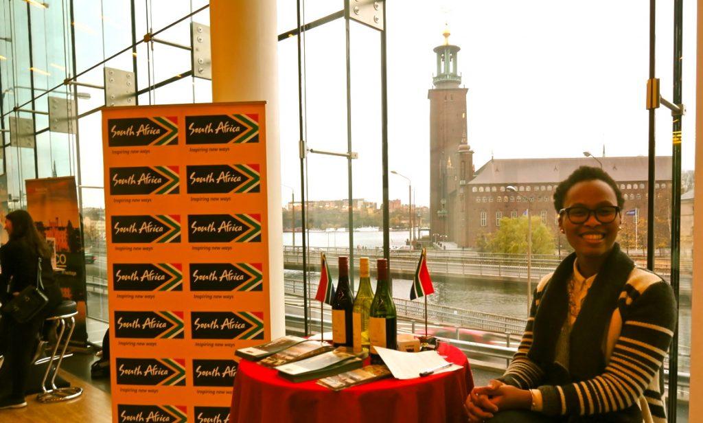 Sydafrika lockar och fanns med på Travel News Market mässan.