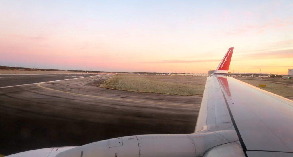 Omväxling förnöjer. Från Arlanda och frost till Spanien och mer värme.