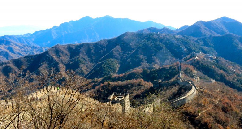 KInesiska muren är gammal godis.
