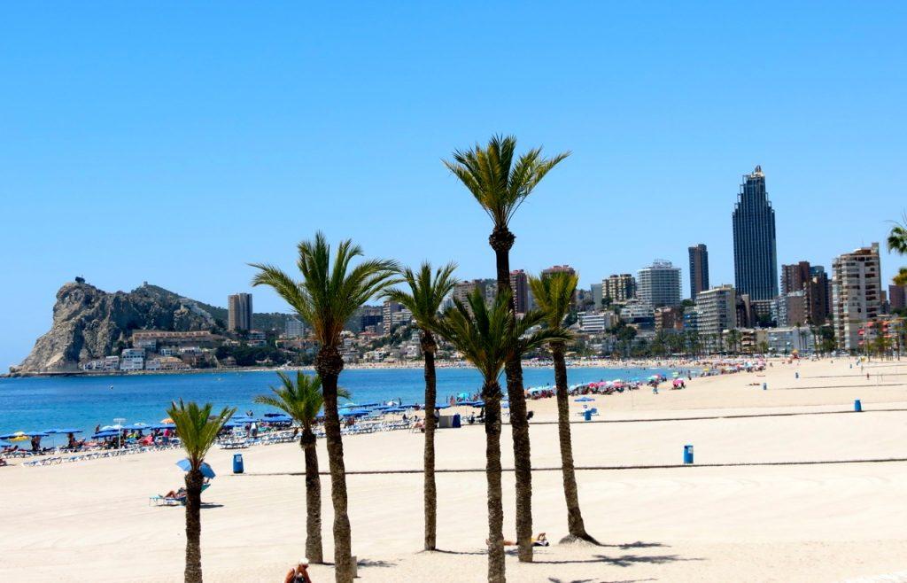 Benidorm är fortfarande engelsmännens paradis i Spanien.