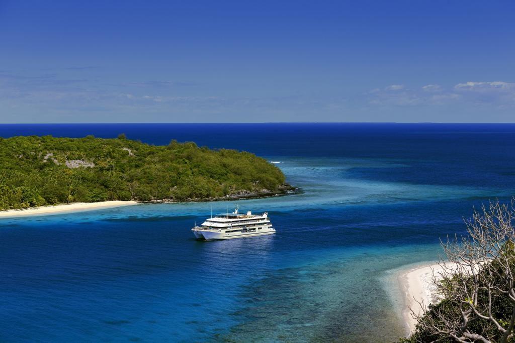 Från Honolulu på Hawaii till Fidji, en minnesvärd resa
