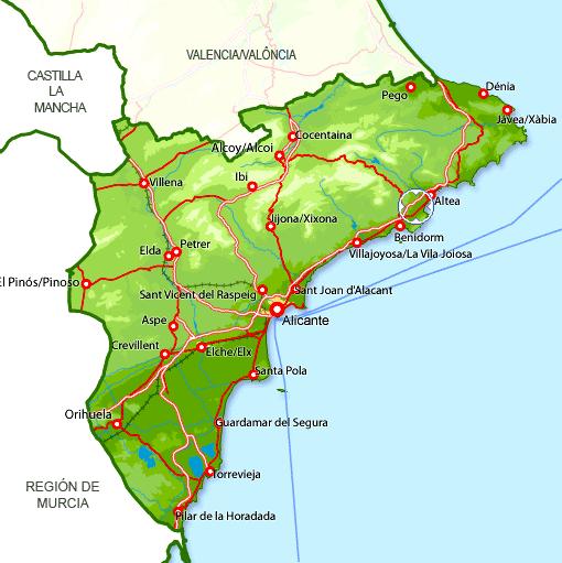 Karta Fran Alicante Till Torrevieja.Spanien 2017 Ar Nytt Rekordar For Turismen Ditte Akker