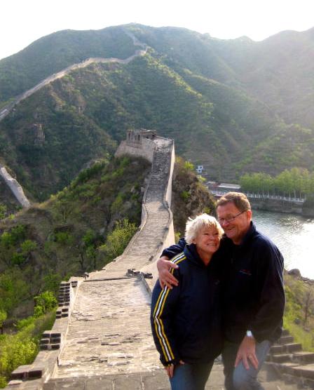 Kinesiska muren är en annan favorit. En stor sådan.