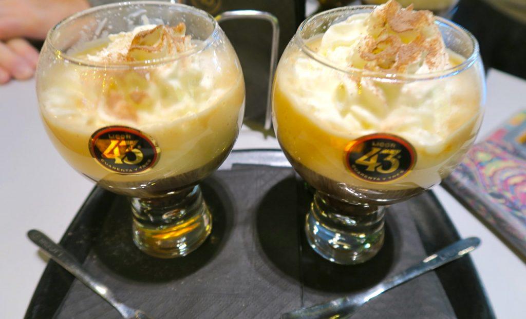 """Likör 43 kan användas till både varma och kalla drinkar. Här """"Spanish coffee""""."""