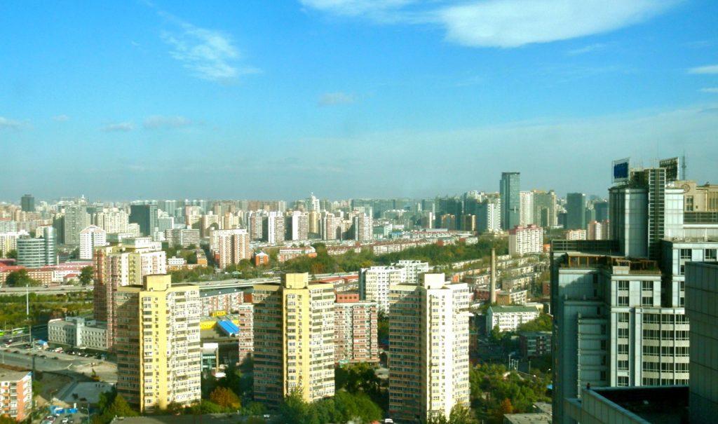 Peking är en väldigt stor stad med idga sina dryga 22 miljoner invånare
