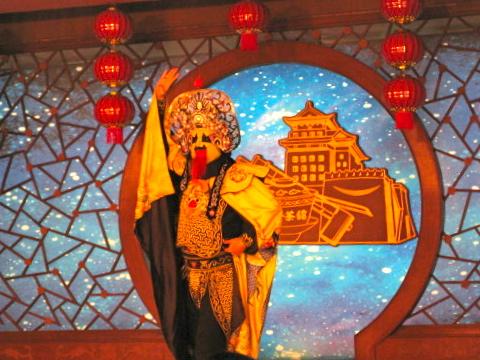 Lite kinesisk kultur ett riktigt tehus i Peking ena dagen och skidåkning den nästa