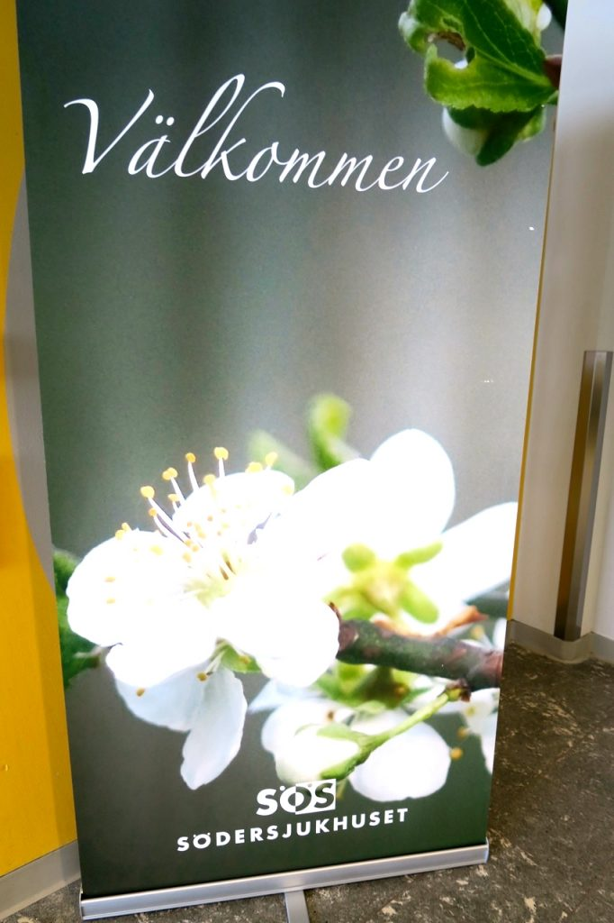Dags igen för besiktining av huden på Södersjukhuset