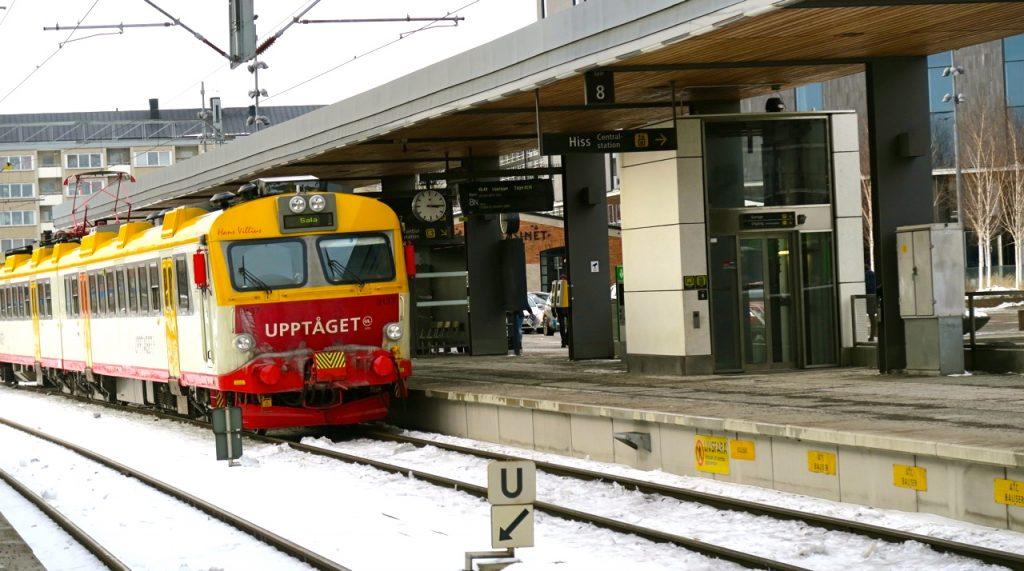 Tur och retur till Uppsala med tåg kan vara just en frpga om tur.