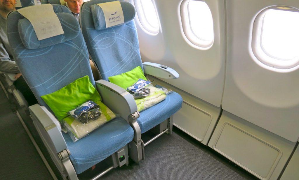 Resan till Peking från Stockholm liksom vår hemresa gick med Finnair