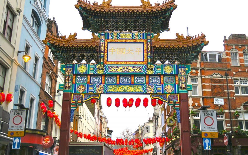 Chinatown, mitt i LOndons SoHo