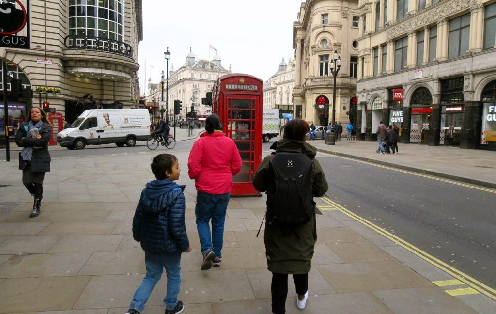 En lyckad fredag, vår första dag i London, som innehöll allt det vi planerat.