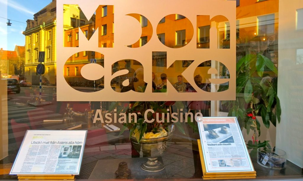 """Restaurang """"Mooncake"""" i Stockholm har tydlig smak av KIna och några av deras olika kök."""