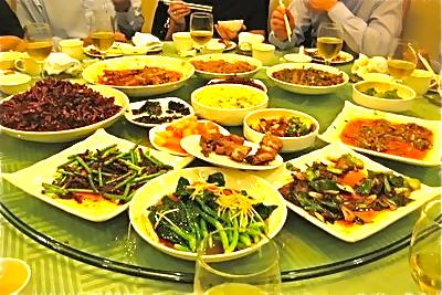 Kinesisk matkultur är ett stycke gammal historia.