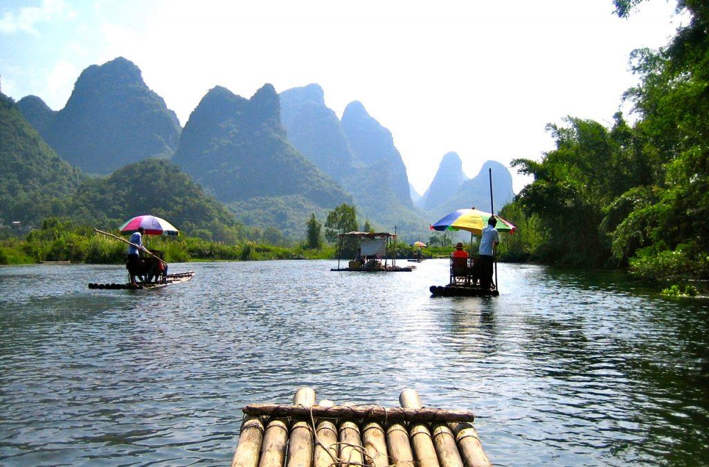 Ute på äventyr i södra Kina.