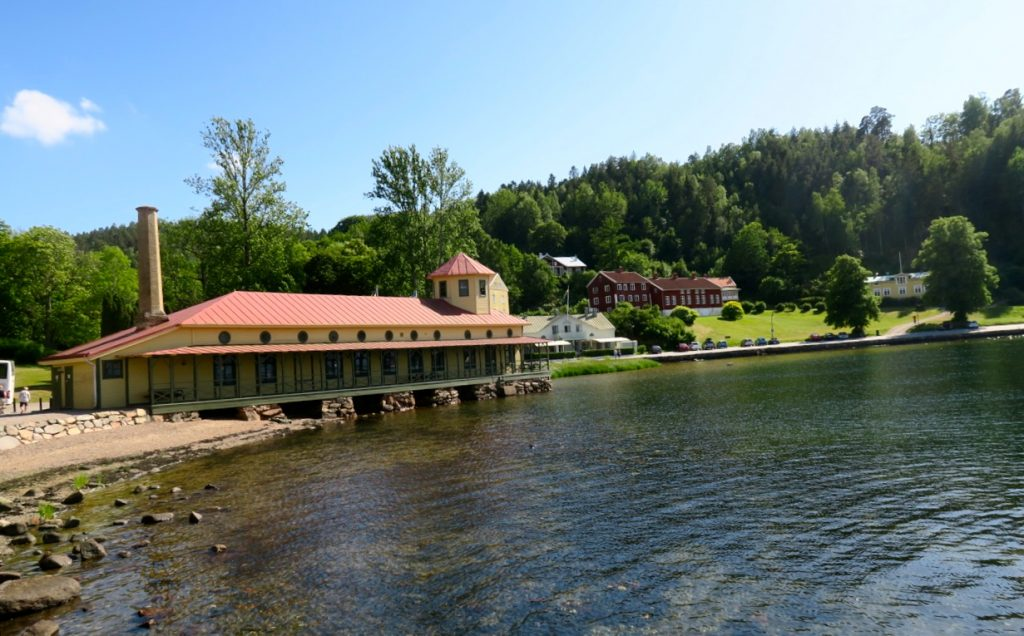 Gustafsberg utanför Uddevalla är Nordens äldsta havskurort