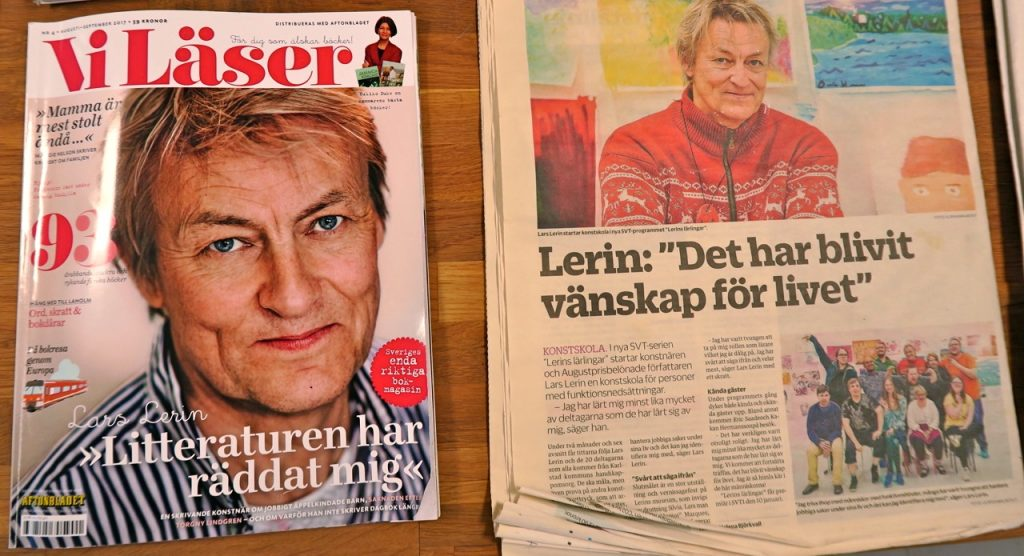 Lars Lerin i repris och det kan få bli många sådana.