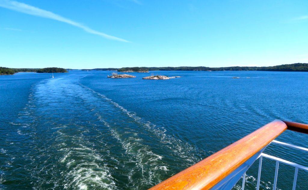 Under sommaren blev det också några resor över till Åland.