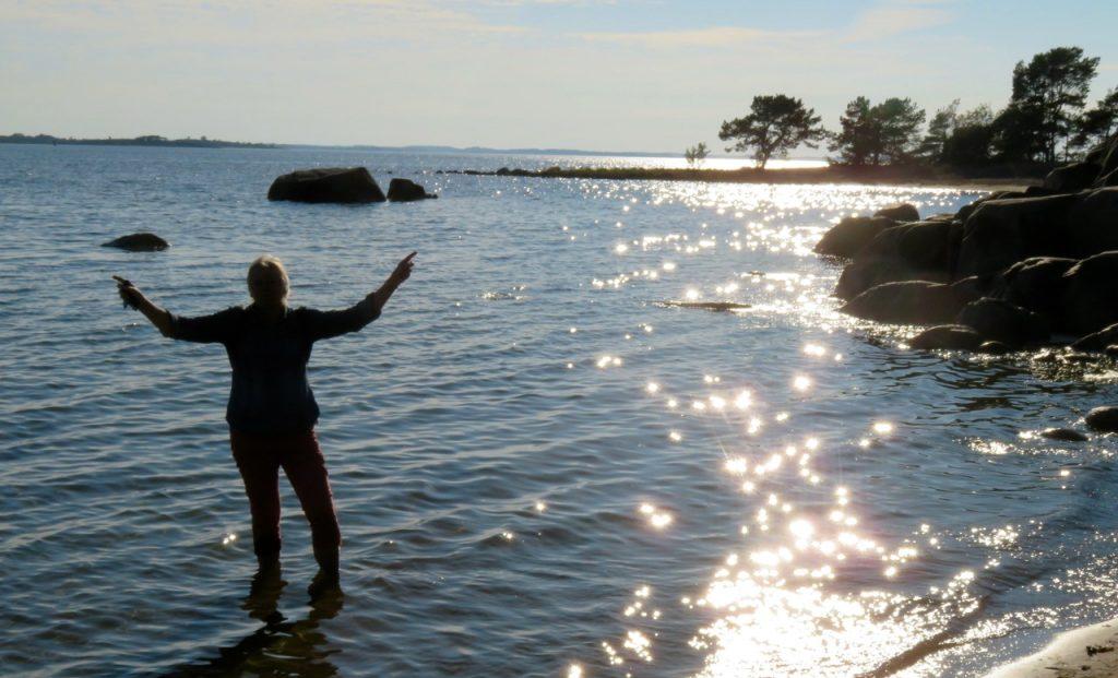Vid Trouville i Sandhamn. En stark känsla av lycka. Och av frihet.