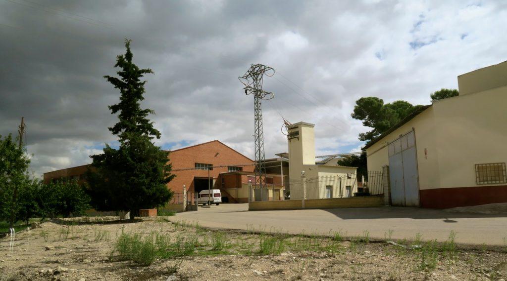 Vingården Vina Elena utanför Jumilla i Murciaprovinsen i Spanien
