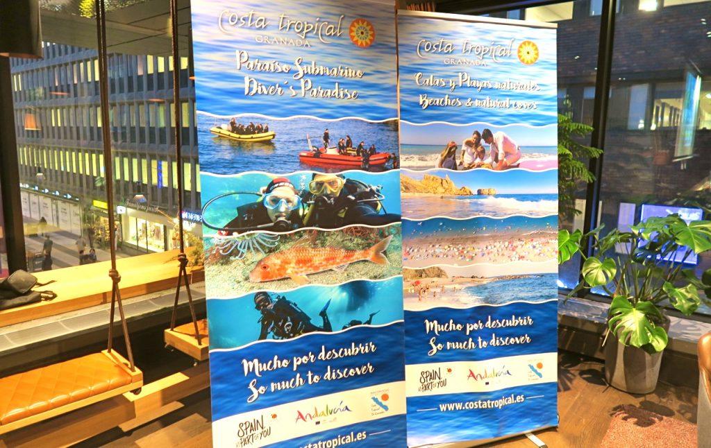 Tropisk kust i Spanien , Costa Tropical lockar till besök.