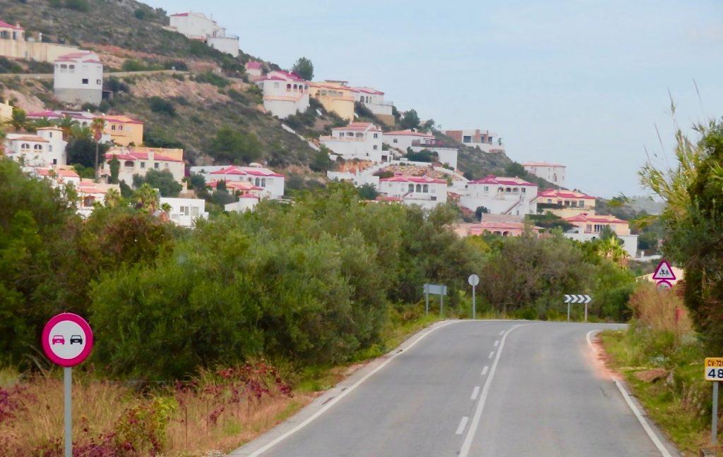 Turen fortsätter ner mot kusten och Medelhavet