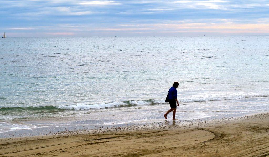 Som vanligt blev det en promenad längs havet somvi startade vid Playa del Cura.