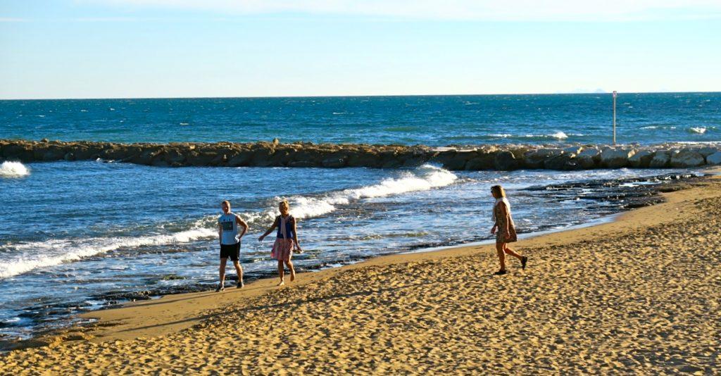 En fin dag var det i Torrevieja. Strålande sol och +20. Och det är ändå november...