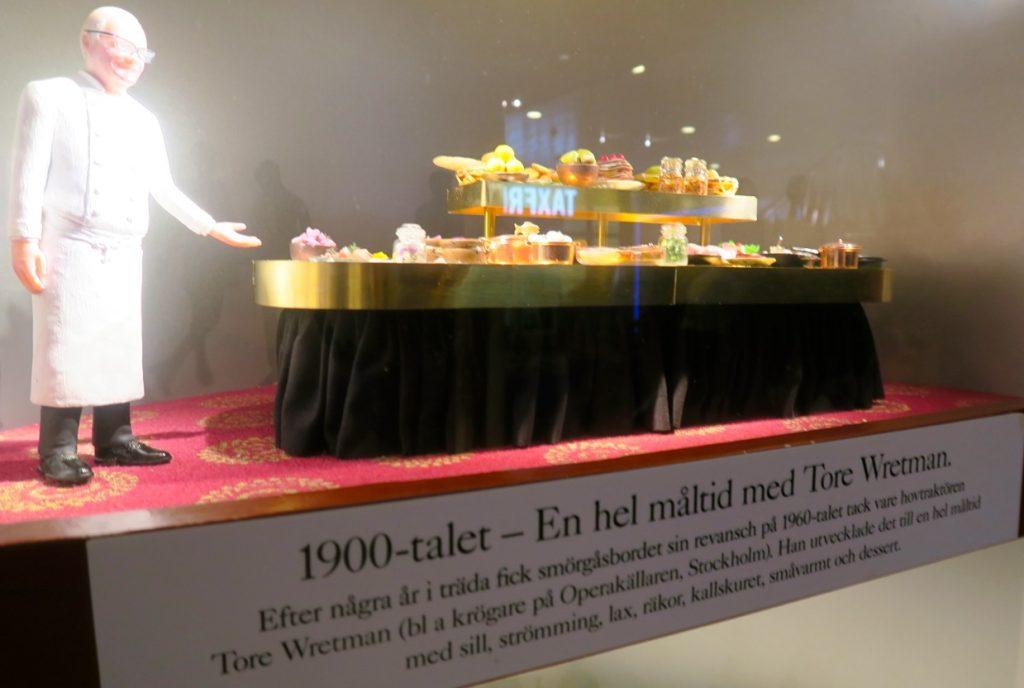 Mat och dryck - Smörgåsbordet fick under 1960-talet ett rejält uppsving av Tore Wretman.