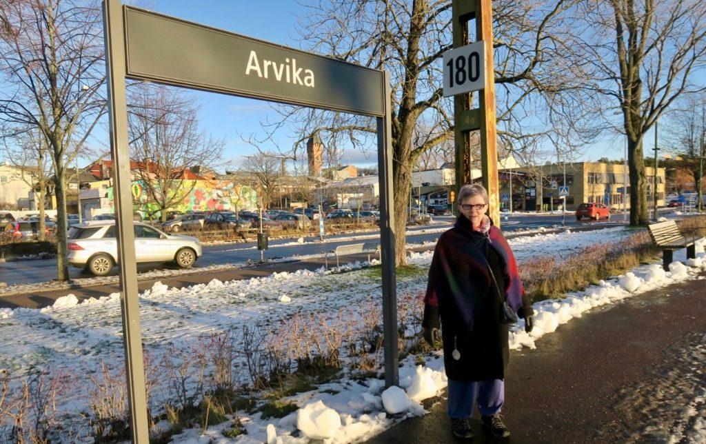 Arvika och min goda bloggvän Tove välkomnar.