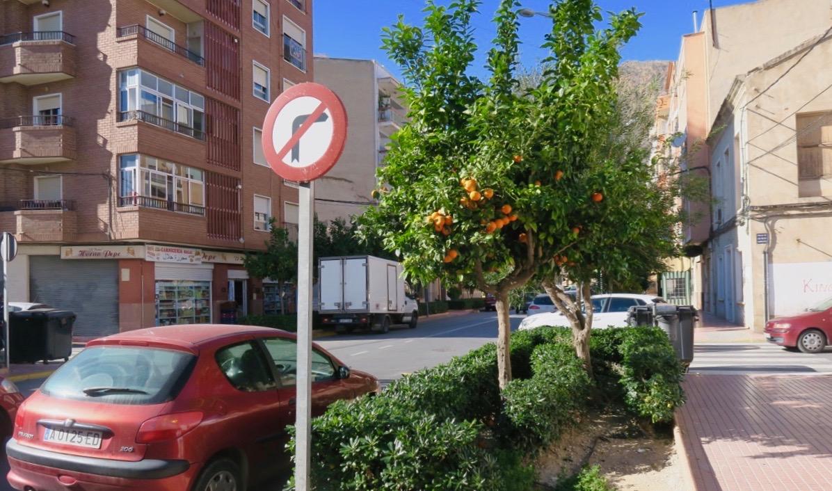 Vårt nästa stopp blir den lilla staden Callosa de Segura-