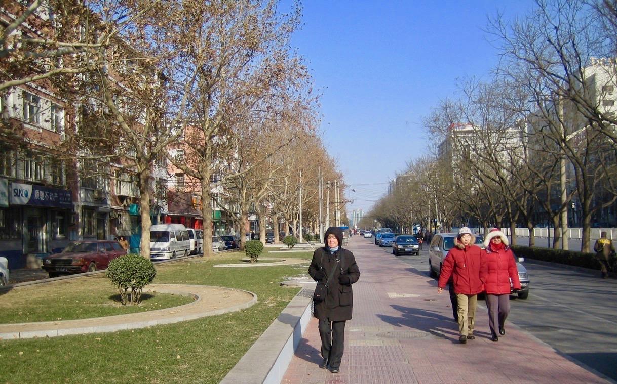 Peking en kall januaridag. Ett kallt avtryck men minnesvärt.