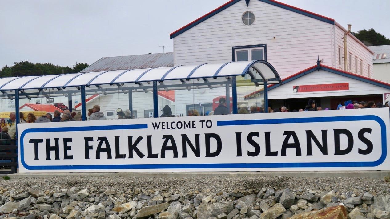 Falklandsöarna välkomnar