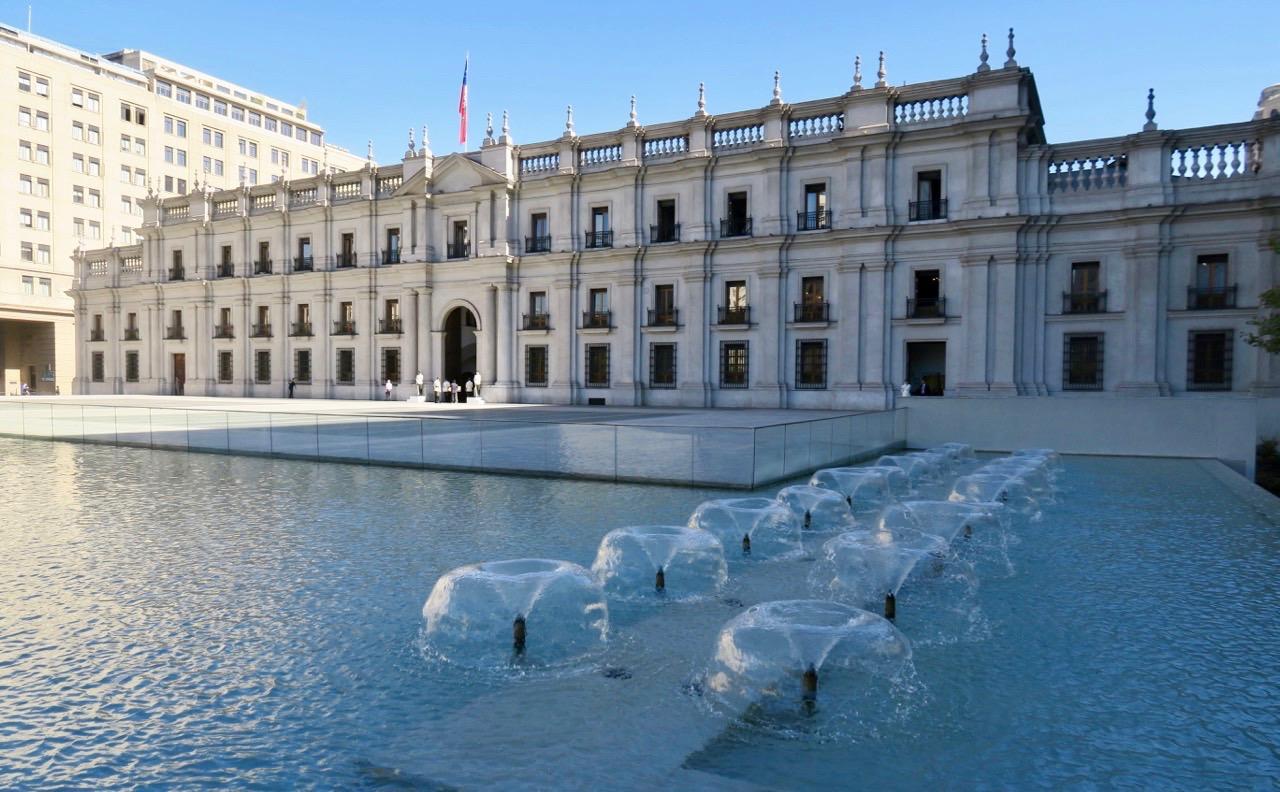 """Presidentpalatset, """"La Moneta"""" i Santiago de Chile"""
