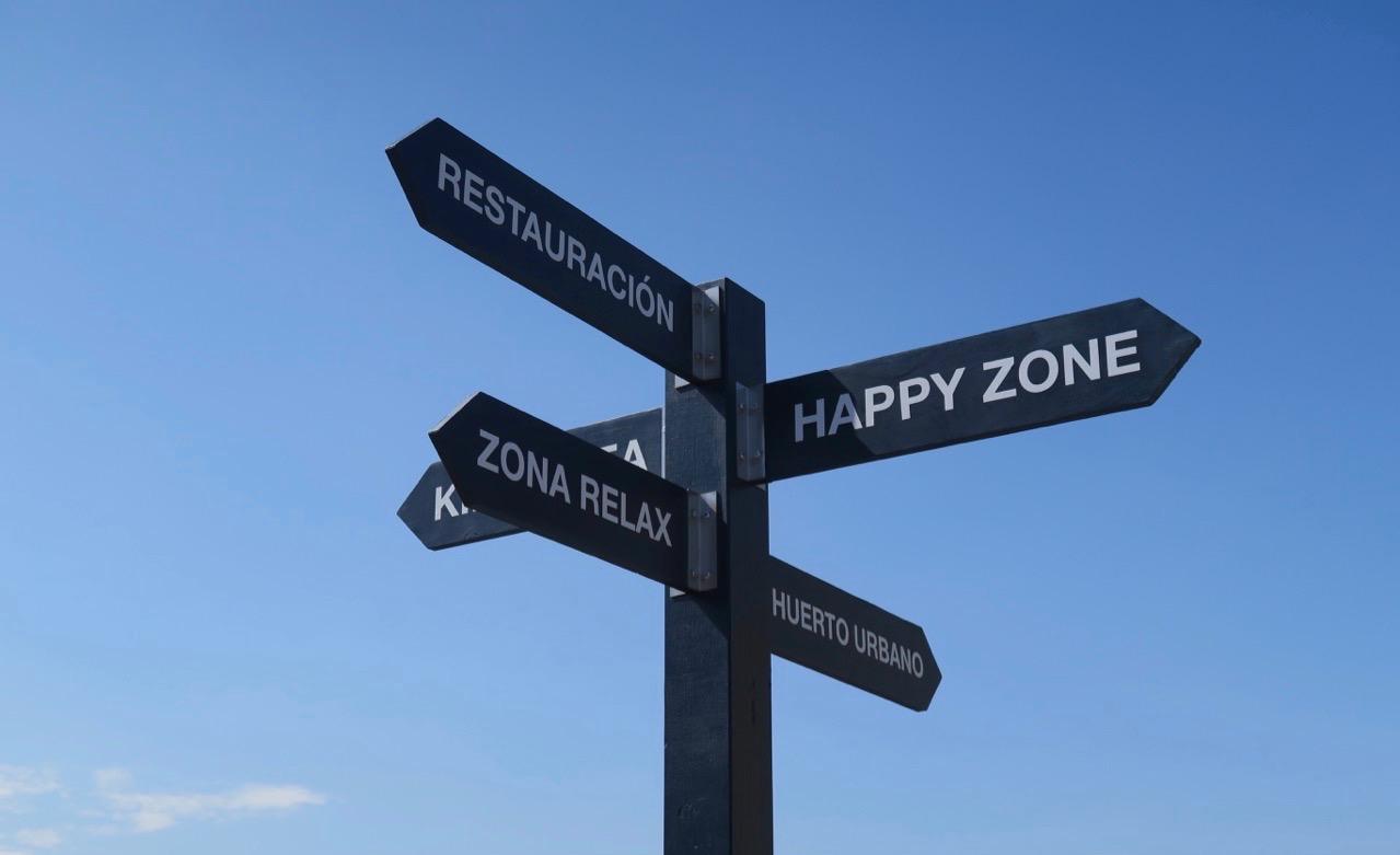 Skyltsöndag! Och här vill det till att välja rätt väg.