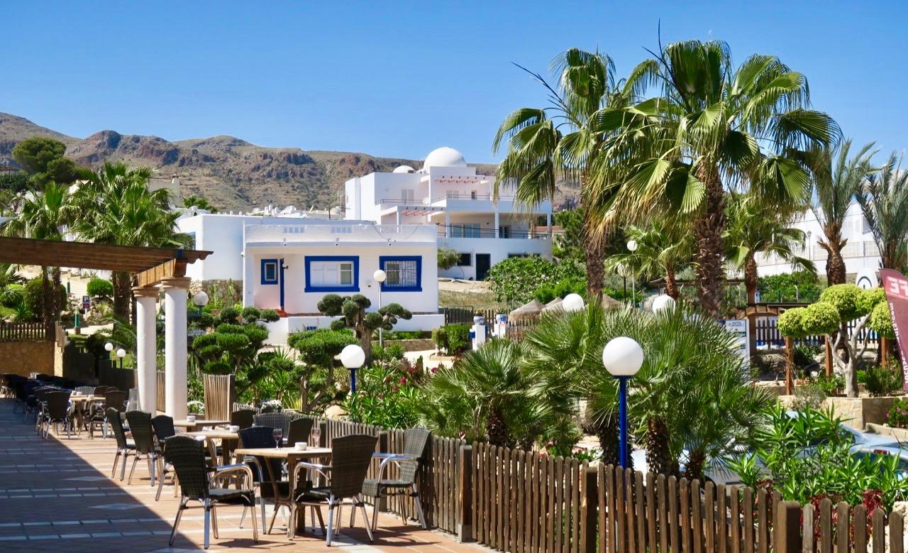 Bra boende erbjuds också i de delar av hotellet som ligger i den vackra trädgården.