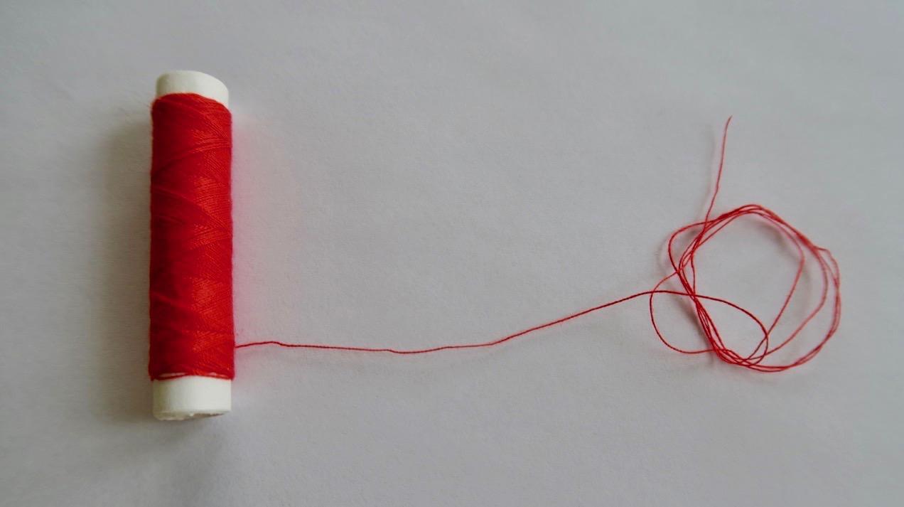 En röd tråd att följa.