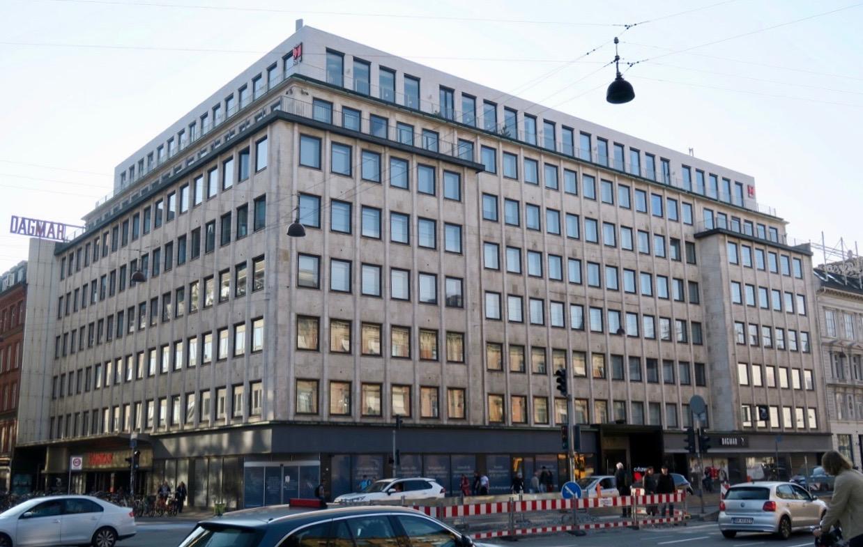 HOtell CitizenM sett från Rådhusplatsen.