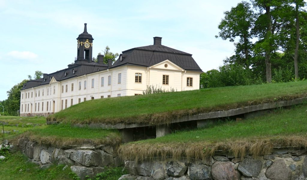 ruinerna efter gamla Svartsjö slott, Nya Svartsjö slott