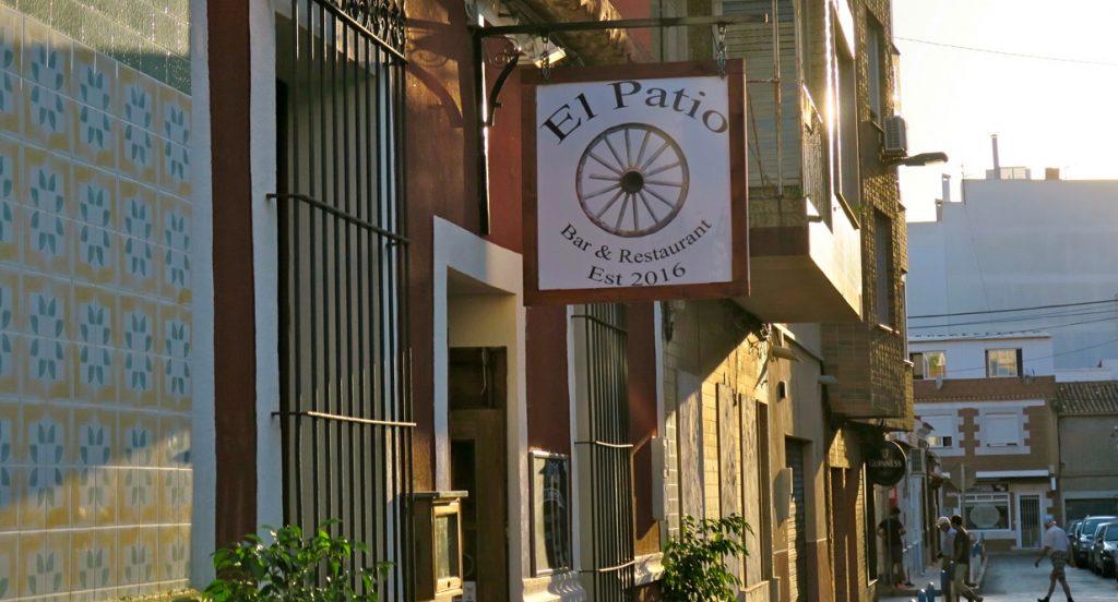 El Patio en trevlig restaurang i Torrevieja