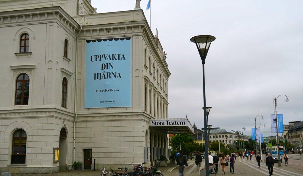 Goa Göteborg med tänkvärt budskap