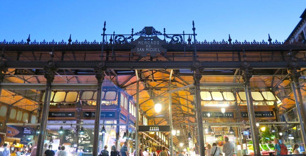 Mercado de San Miguel, en gourmetmarknad i Madrid